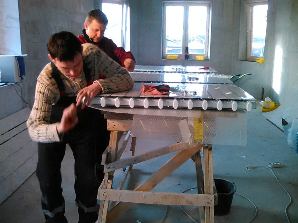 Регулировка радиатора терморегуляторами