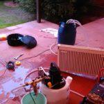 Гидропневматическая промывка