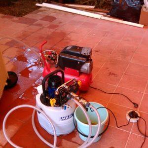 Промывка специальным оборудованием