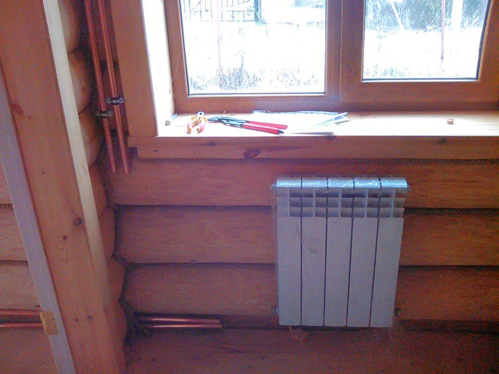 Комбинированное частное отопление дома
