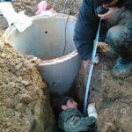 Монтаж кессона водоснабжения
