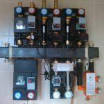 Установка отопления водоснабжения