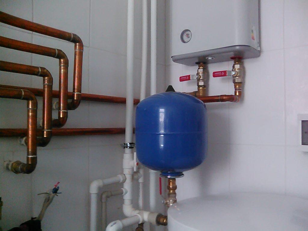 Отопление медными и пластиковыми трубами