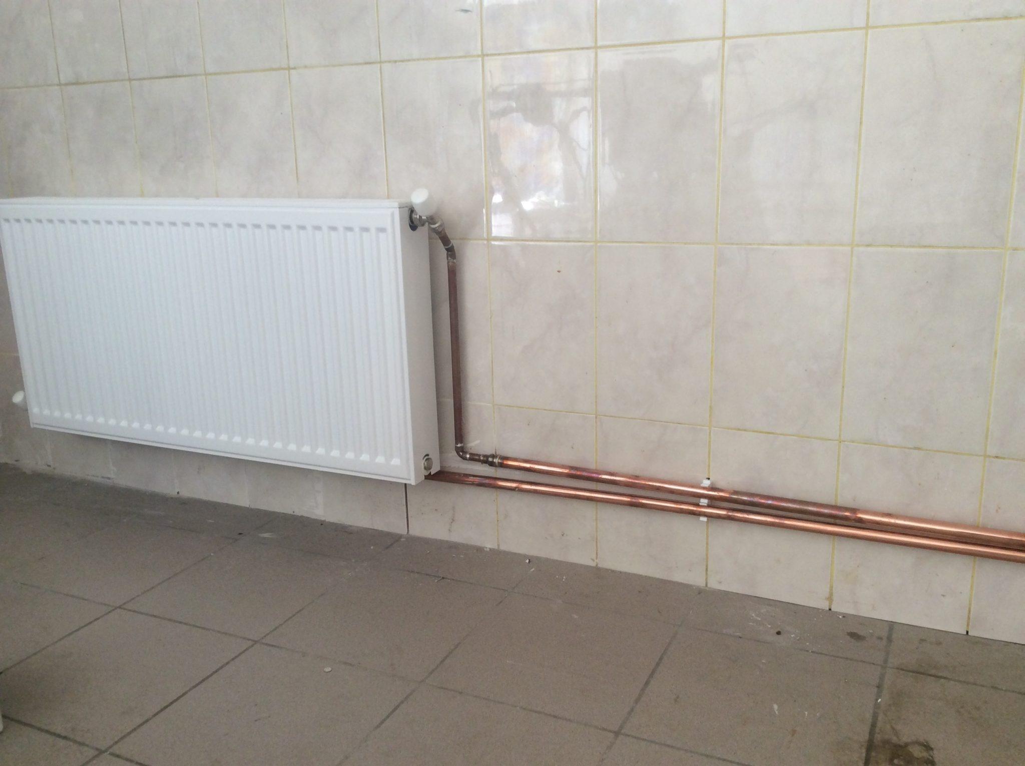Отопление здания тепловым пунктом