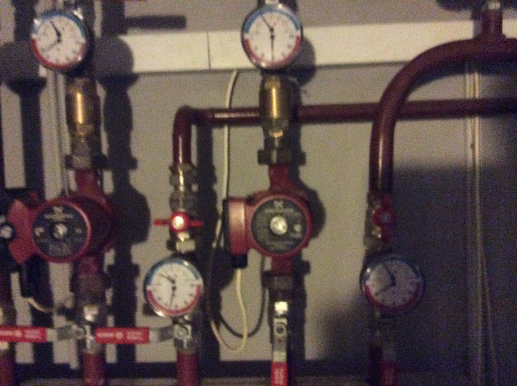 Тепловой пункт на газовом котле