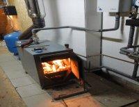 Комбинированное дровяное отопление