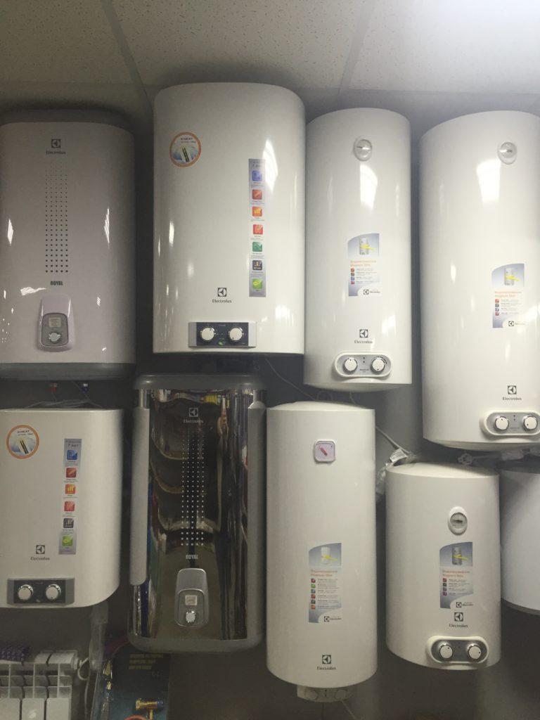 Электрическоие водонагреватели