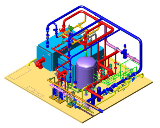 проект газовой котельной