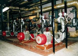 Оборудование центрального теплового пункта