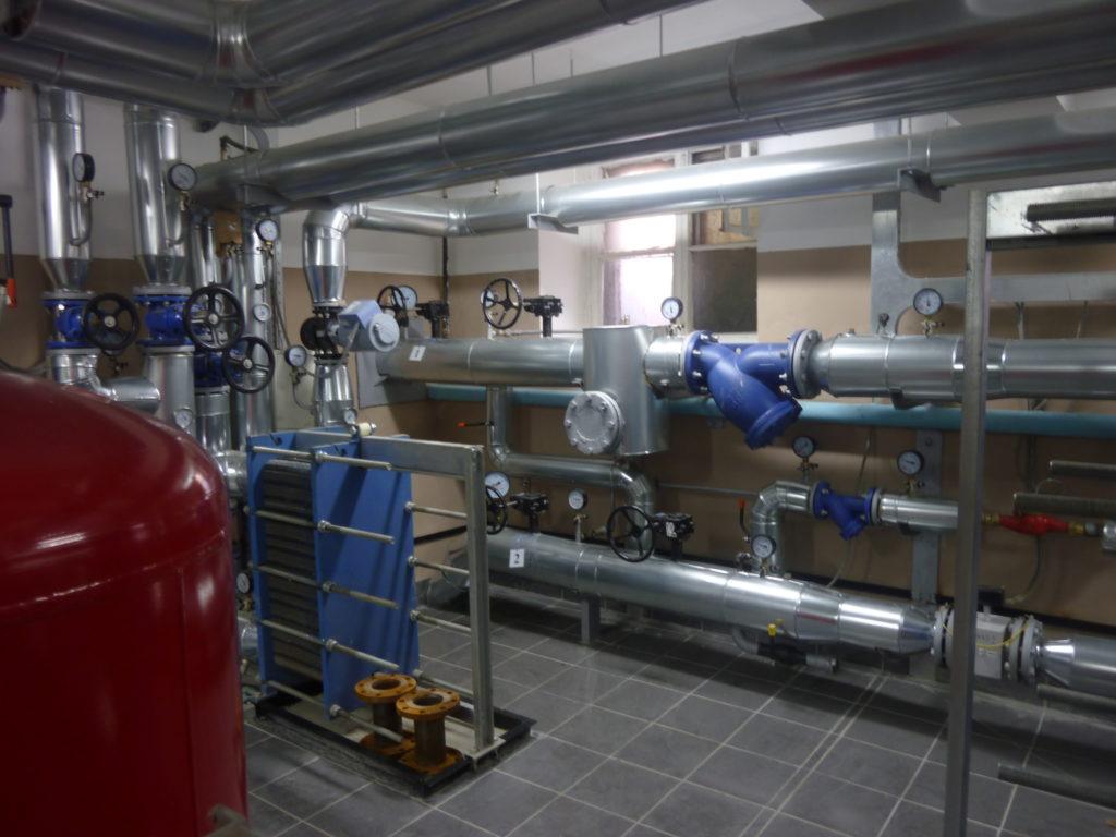 Центральный тепловой пункт (ЦТП) Сергиев Посад Пластины теплообменника Sondex SDN354 Кострома