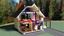 Монтаж ремонт и обслуживание систем отопления для частного дома, дачи, коттеджа