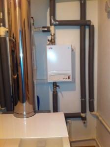 Резервный электрический котёл отопления в частном доме