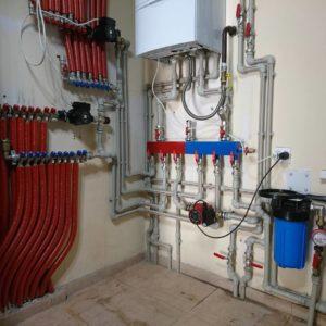 Монтаж котельной отопления дома полипропиленом