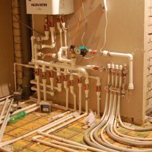 Алексино: Отопление, водоснабжение