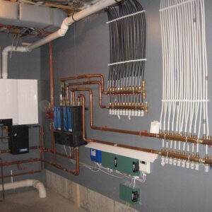 Алёхново: Отопление, водоснабжение