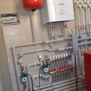 Андреевское: Отопление, водоснабжение