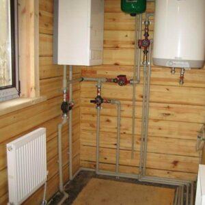 Антоновка: Отопление, водоснабжение