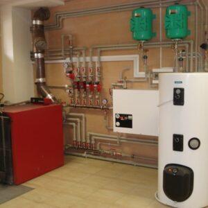 Берёзовка: Отопление, водоснабжение