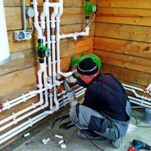 Бочкино: Отопление, водоснабжение