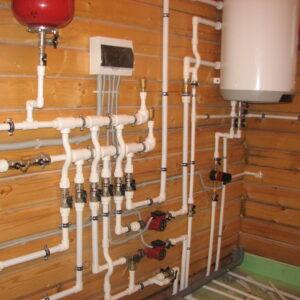 Бодрово: Отопление, водоснабжение