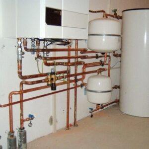 Борки: Отопление, водоснабжение