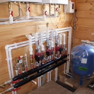Бородино: Отопление, водоснабжение