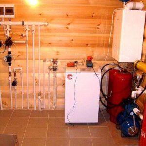 Будьково: Отопление, водоснабжение