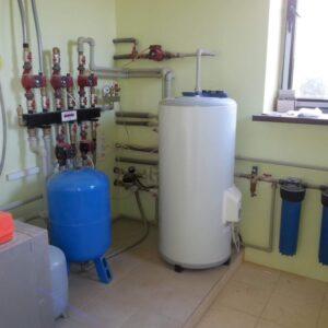 Букарёво: Отопление, водоснабжение