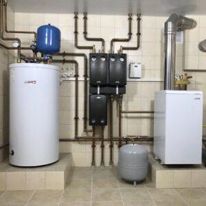 Бяконтово: Отопление, водоснабжение