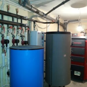 Челобитьево: Отопление, водоснабжение