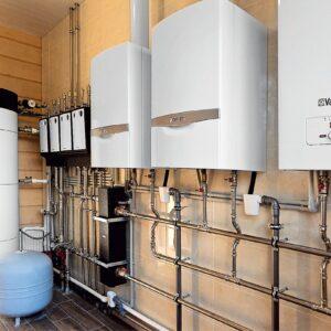 Долгиниха: Отопление, водоснабжение