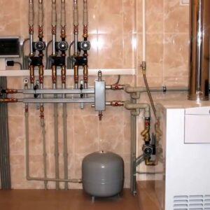 Глебовский: Отопление, водоснабжение
