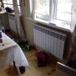 Радиаторы на веранде, монтаж отопления