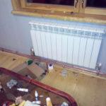 Радиатор под окном