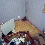 Монтаж труб по периметру, монтаж отопления, радиаторное отопление дома
