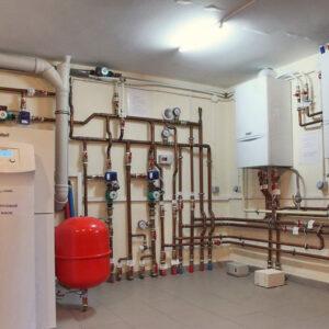 Коргашино: Отопление, водоснабжение