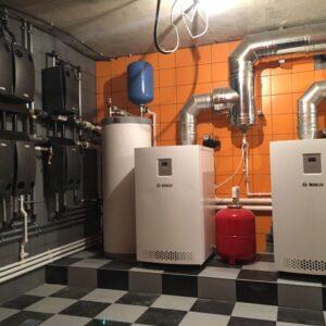 Манюхино: Отопление, водоснабжение