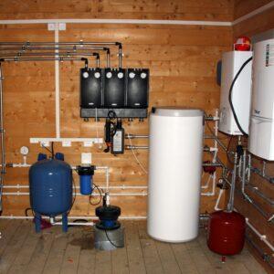 Марфино: Отопление, водоснабжение