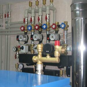 Менжинец: Отопление, водоснабжение