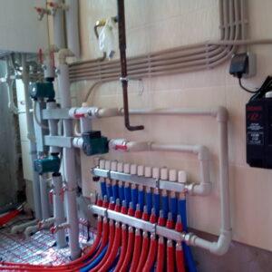 Нагорное: Отопление, водоснабжение