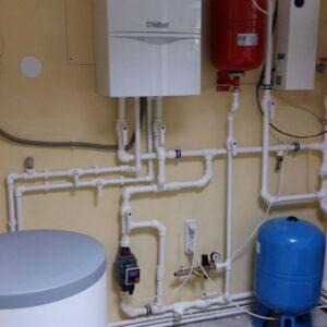 Осташково: Отопление, водоснабжение