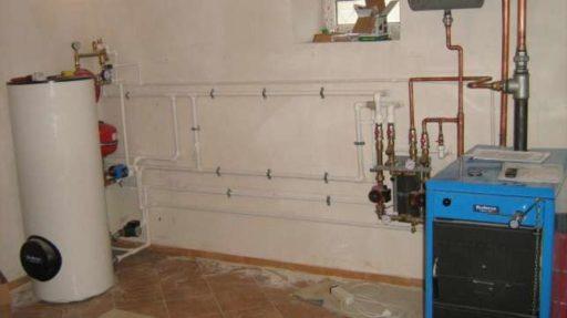 Первый запуск системы отопления в коттедже