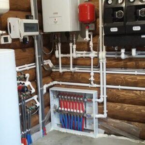 Подольниха: Отопление, водоснабжение