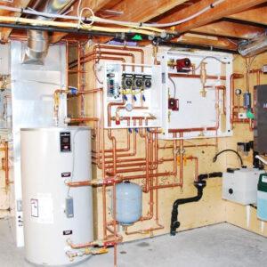 Подрезово: Отопление, водоснабжение