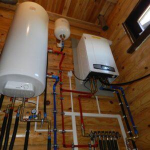 Поседкино: Отопление, водоснабжение