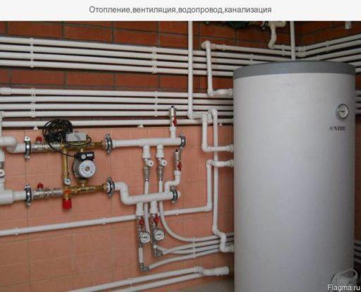 Профессиональный ремонт отопления в коттедже