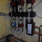 Установка насосов отопления
