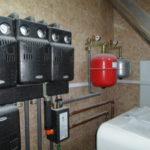 Установка расширительного бака отопления