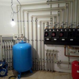 Семенищево: Отопление, водоснабжение