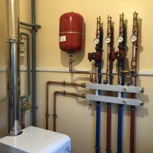 Семкино: Отопление, водоснабжение